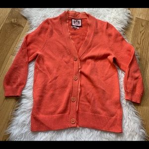 Juicy couture cardigan women size large